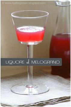 Liquore al melograno