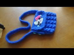 Как связать сумочку для куклы спицами   Вязание для начинающих. Уроки вязания спицами и крючком