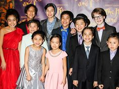 The kids of THE KING AND I celebrate their opening night!