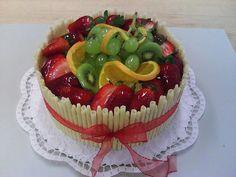 Ovocný dort - - Svatební dort a koláče