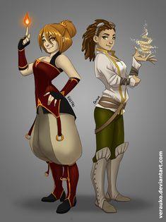 Khepri and Suna by verauko.deviantart.com on @deviantART