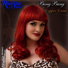 RockStar Wigs® <br> Bang Bang™ Collection - Copper Crush