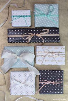 #Wedding #WrappingPaper #weddinggifts www.LiaGriffith.com