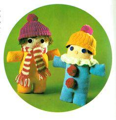 Last-Minute CHRISTMAS Huge Set of Woolly Toys to make Knitting Pattern PDF Booklet Gift Idea Children Rag Doll Pon-Pom