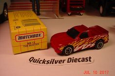 Matchbox The Buster UTE Plum 1995 13 Box