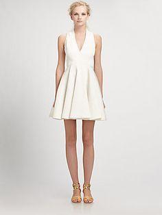 Rachel Zoe Caroline Mock-Wrap Dress
