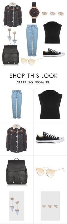 """""""Sem título #1011"""" by leticiahubner ❤ liked on Polyvore featuring Topshop and Olivia Burton"""