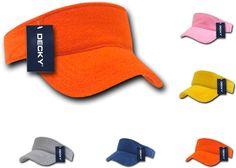 1 Dozen Decky Golf Sports Sun Visor Visors Terry Cloth Snug Fit Wholesale