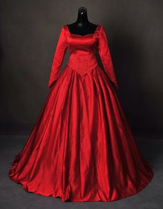 Once Upon A Time Emma Red Masquerade Inspired Ball Gown Dress Cosplay Costume by AddictedToMagic on Etsy https://www.etsy.com/listing/246345851/once-upon-a-time-emma-red-masquerade