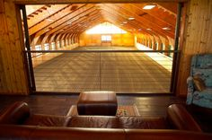 Stable Style: Indoor Riding Arena | Horses & Heels