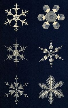 snowflake-12 by Public Domain Review, via Flickr