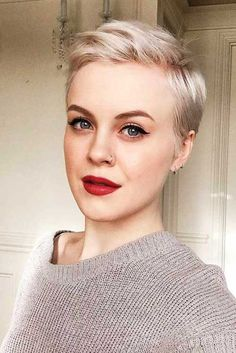 2019 Trend Short Haircuts For Fine Hair , When you choose on of these trend short haircuts for fine hair, that will make your fine hair to be a bit more textured and full though they are short... , Short Hairstyles