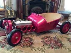Build A Go Kart, Diy Go Kart, Kids Go Cart, Bike Wagon, Kart Cross, Soap Box Cars, Pull Wagon, Go Kart Plans, Radio Flyer Wagons