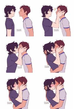 I've pinned this about a million times but it's still my favorite Klance thing