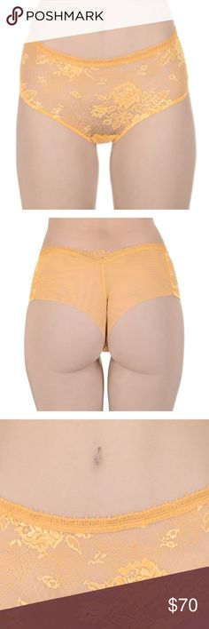 La Perla Made in Portugal Lace Panty Gold Gender: Womens Styles: Shorts Collection: All Seasons Compositions: PA 88% EA 12% Made: PORTUGAL Size: 3 - M La Perla Intimates & Sleepwear Panties