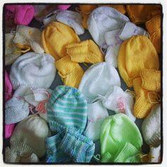 Danke auch fuer diese wunderbare Baby-Strickspende... Ist ebenfalls bereits in Bulgarien! (Feb. 2014)