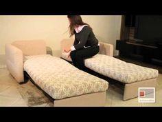 New sofá-cama - YouTube