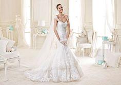 L'abito della fotografia è il modello NIAB15085IVTF - Nicole Bridal Collection 2015 – Photo Courtesy of Nicole Fashion Group