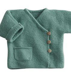 Modèle brassière bébé - Modèles Layette - Phildar
