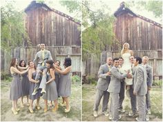 I love this whole wedding, including the bridesmaid dresses yellow wedding jennifer eileen photography 9