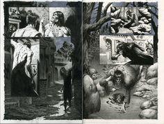 Bernie Wrightson. Frankenstein Alive, Alive