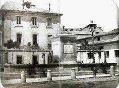 Fuente en La plaza de Leganitos