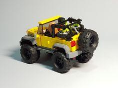 Lego Zombies, Lego Wheels, Lego Creative, Lego Truck, Lego Boards, Amazing Lego Creations, Lego Architecture, Lego Projects, Custom Lego
