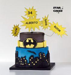 Tarta Batman cake