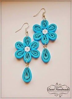 12 Awesome Paper Quilling Jewelry Designs To Start Today – Quilling Techniques Neli Quilling, Quilling Images, Paper Quilling Earrings, Paper Quilling Flowers, Quilled Paper Art, Paper Quilling Designs, Quilling Paper Craft, Quiling Earings, Quilled Roses