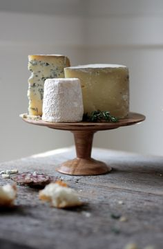 I reject 'Let them eat cake'.   I say, rather 'Let them have a decadent cheese course that looks like a cake (with amazing wine pairings- of course!)'