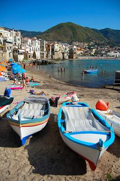 Cefalù (Sicily)  maybe in 5 years I will have just decided to open a coffee shop in Sicily and live the rest of my life there.... Or a crossfit gym! Learn to farm. Live off my land.