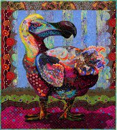 Susan Carlson_Polka Dodo - only existed on Mauritius Island, indian ocean