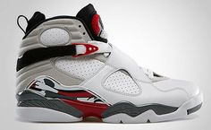 new product de4cc 69e10 Air Jordan 8 White True Red-Flint Grey Release Date