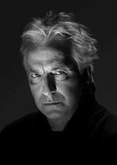 November 3, 2009 -- Alan Rickman - this is one of several photos taken by professional photographer Carlos Lumiere during a photo session they had.