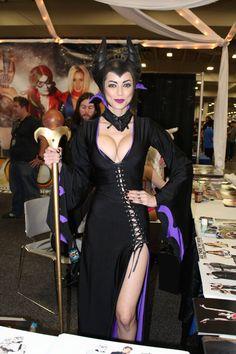 "Maleficent ""Disney"" #Cosplay by LeeAnna Vamp #SLComicCon #FanX2014"