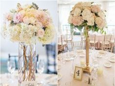 20 Amazing Tall Wedding Centerpieces with Flowers