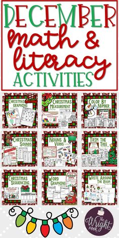 If you love using themed activities in your classroom, then THIS SET IS FOR YOU! Your students will love working on these activities in centers, small group, whole group, and even at-home practice!!! With colored and printer friendly versions, this will be a great addition to your classroom.