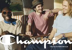 CHAMPION 2013 SPRING&SUMMER | WORKS | デキスギ D.K.S.G. #champion #jointhesoutherntimeclub #copy #design #print #Advertisement #shooting #fashion #dekisugi