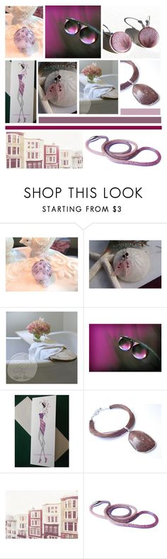 """Mauve Moves"" by inspiredbyten ❤ liked on Polyvore"