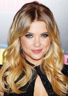 Ashley Benson, beautiful waves for a night out