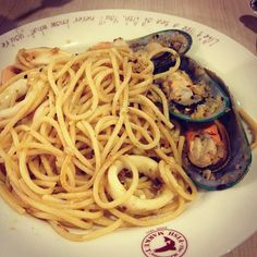 Seafood Aglio Oglio – more Manhattan dinner will soon follow in the next three months ~ 5m 25d