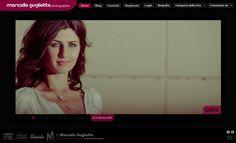 """Ideazione, Progettazione e Sviluppo Portale """"www.marcellogugliotta.com (Trieste - Fotografia)"""" - Home Page - Slider."""