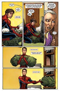 Thinkthinkthink.  Panicking.  Can't think. Work on instinct.  Instincts bad.  (Spider-Man)