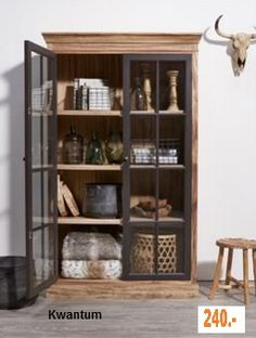 Iron and Timber cabinets Decoration Inspiration, Furniture Inspiration, Interior Inspiration, Furniture Makeover, Diy Furniture, Furniture Design, Industrial Living, Industrial Interiors, Home Interior