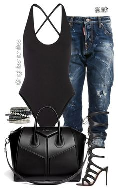 """""""Rugged"""" by highfashionfiles ❤ liked on Polyvore featuring Proenza Schouler, Givenchy, H&M and Christian Louboutin"""