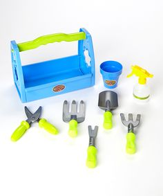 Little Gardener Play Set-Encourage your little gardener's imaginative play with this set's large assortment of tools perfectly sized for small hands.