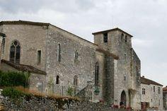 Ingang tot het dorp Pujols le-Haut aan de Lot Aquitaine, Barcelona Cathedral, Notre Dame, Beautiful Pictures, France, Building, Travel, Top, Viajes