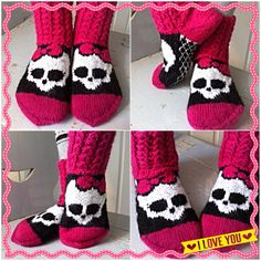 Monster high -sukat/socks