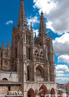 Catedral de Burgos. Fachada occidental
