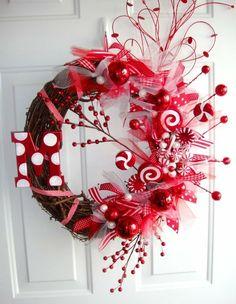 Original Christmas Wreath, how to do, Do it yourself, Coronas de Navidad originales, como decorar en Navidad, adornos de navidad,